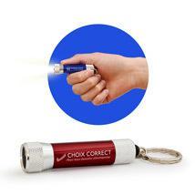 Kľúčenka s LED svietidlom