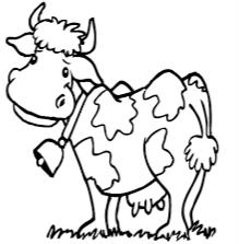 Výsledek obrázku pro kresba krávy most