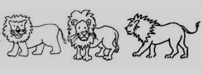 Výsledek obrázku pro lvi kresba